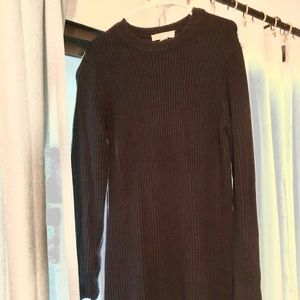 Micheal kors black sweater dress